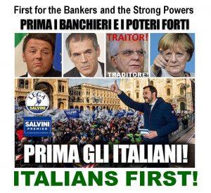 Italians first