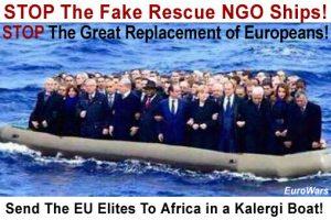 Fake Rescue Ships