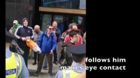Did antifa's Mark Malone and Eamonn Crudden Setup The Phoney Na-zi Salute Outside Google HQ For MSM?