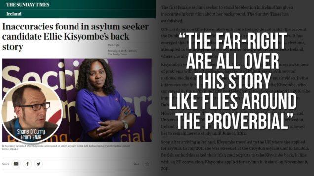 Ellie Kisyombe remains tight-lipped about her failed asylum bid despite acquiring residency