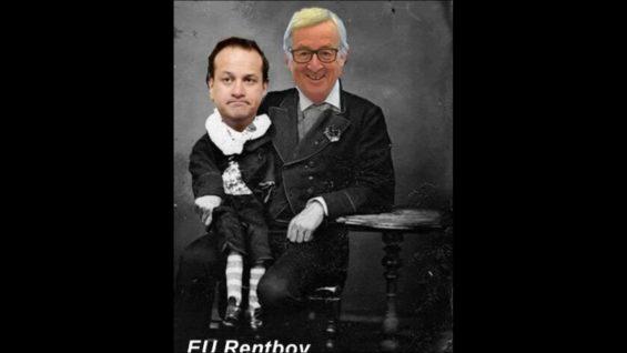 """Enormous Hostility To UK"" from EU Leaders – EU Rentboy Leo Varadkar Obediently Repeats The EU Party Line"