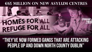 Govt to spend €65 Million on new asylum centres  | The Niall Boylan Show