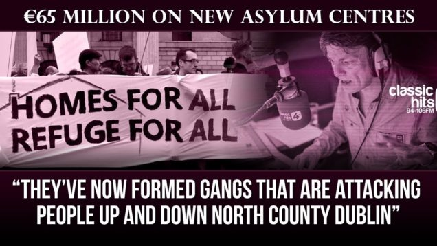 Govt to spend €65 Million on new asylum centres  | The Niall Boylan Show