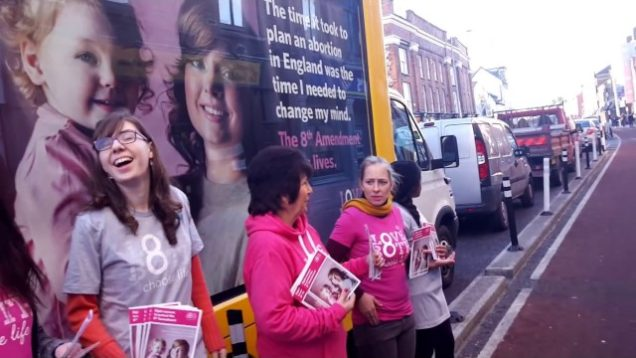 Launching of the Pro-Life Van in Cork 30th November 2016