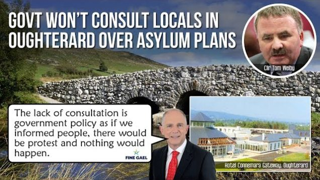 Govt won't consult locals in Oughterard over asylum plans for Gateway Hotel