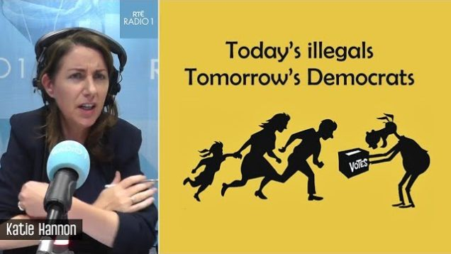 Ex-Democrat explains to Liveline why illegal immigration in an electoral fraud operation