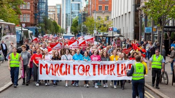 Highlights from the Belfast Pro-Life Rally 7th September 2019
