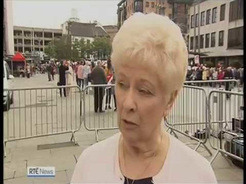 Belfast Rally for Life 7th September 2019- RTE News Report
