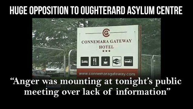 Huge opposition to Oughterard asylum centre | RTÉ News