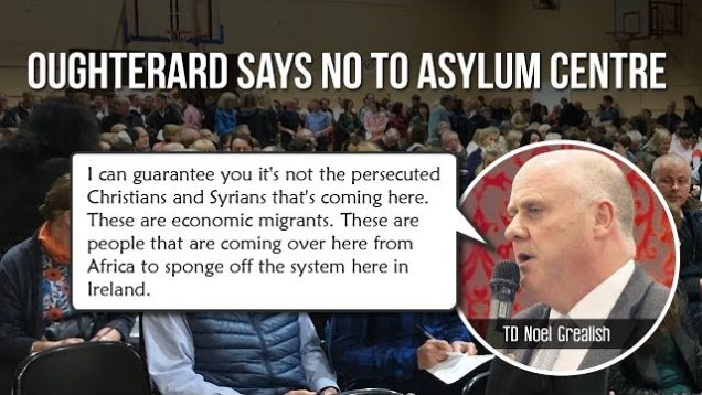 TD Noel Grearish objects to economic migrants abusing the asylum system to move to Ireland