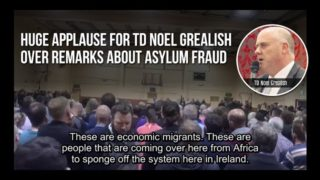 Huge applause for TD Noel Grealish over remarks about fake refugees abusing the asylum system