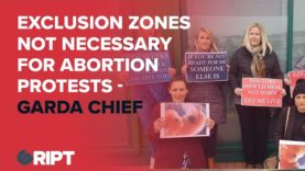 Abortion Exclusion Zones – Simon Harris Tries To Crush Pro-Life Protests Despite Garda Advice