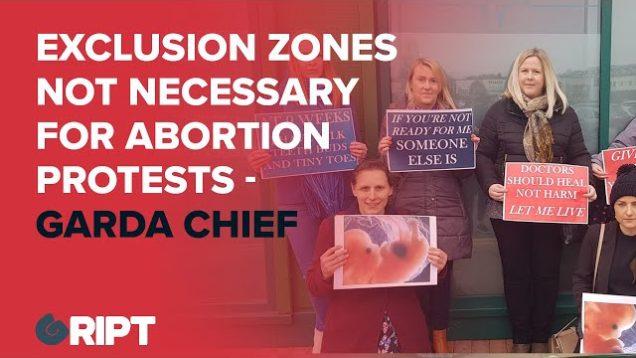 Abortion Exclusion Zones – Simon Harris Tries To Crush Pro-Life Protests Despite Garda Advice