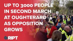 Up to 3000 people in second march at Oughterard as opposition grows