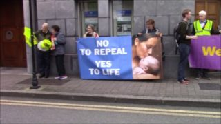 September 2017: Pro-Life Protest against Katherine Zappone
