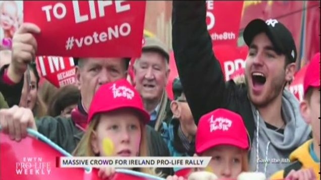 Pro-Life Campaign Rally for Life Dublin 18th March 2018
