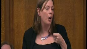 Jess Thomas British Labour MP wears a REPEAL necklace & pregnant!