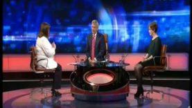 Ann Flynn of Love Both on Prime Time explaining abortion statistics 17-05-18