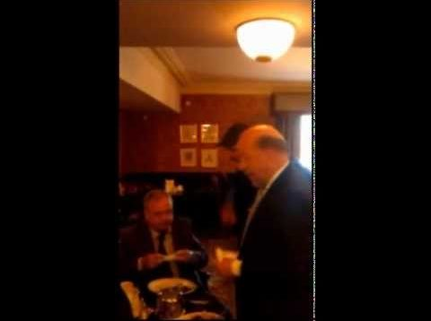 Pat Rabbitte Gets Scolded By Member Of Public
