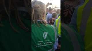 #RunChickenRun Leo Varadkar So Scared of Questions, He Puts National Ploughing 2019 on Lockdown for his PR appearance