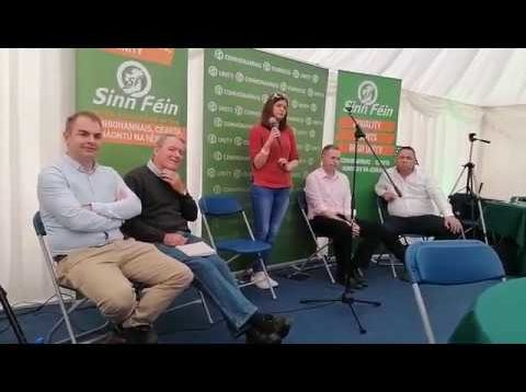 Sinn Fein EU Loyalists – Mixing it up and turning the sod over at National Ploughing Championship 2019…