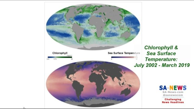 "The Southern Oceans Are Getting Greener and Cooler, Proving ""Global Warming"" Alarmists WRONG, Again"