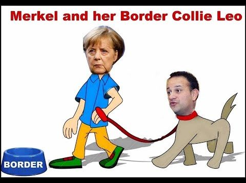Traitor Leo Varadkar and EU Do Want, and Will Put Up, A Hard Border Wall After BRexit!