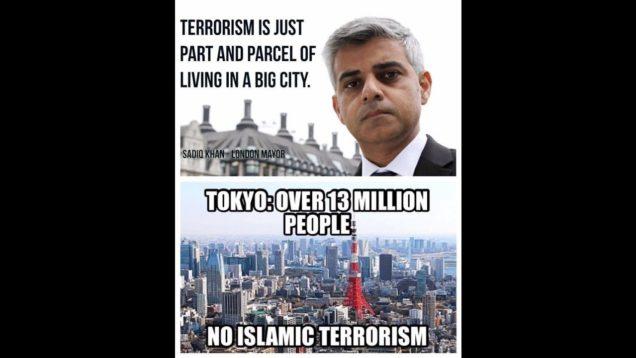 "Traitor Sadiq Khan Told Mumbai That ""London is Open"" in Hindi. Open for Terrorists?"
