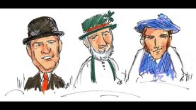 An Irishman, an Englishman and a Scotsman
