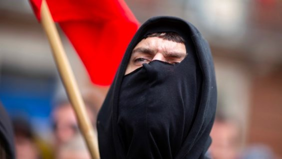 """Antifa ARE the Fascists who """"have no morals, no principles and no empathy"""" – Time to ban Antifa? What about Greta?"""