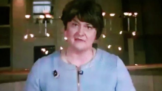 Arlene foster the DUP is a pro life party.Repeal abortion law .