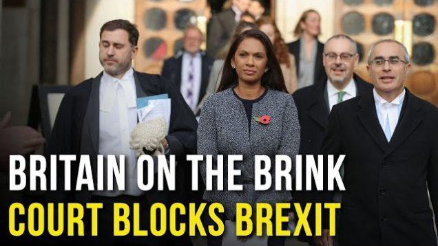 Britain on the Brink as Supreme Court blocks BREXIT vote