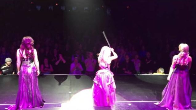 Celtic Woman perform at the Playhouse Square in Cleveland, Ohio