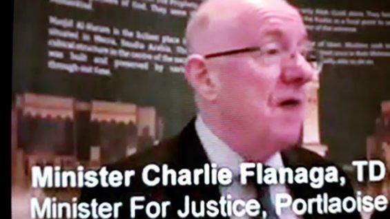 Charlie flanagan Praises the Muslim community in Port laoise # Ireland