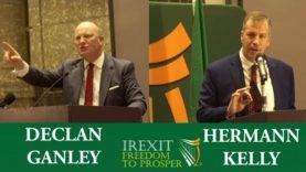 Declan Ganley vs Hermann Kelly | Debate on Irexit and the EU (Full Cut)