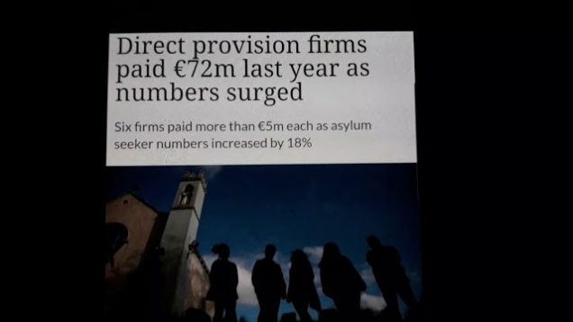 Direct provision firms paid 72 million Euros as Numbers surged