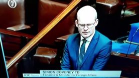 Fine Gael use Tragedy in England to promote the Replacement