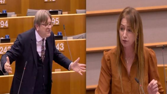 "Imperialist EU Calls Arms Dealers Partners, Not Vendors! – Clare Daly: ""Every time I listen to Verhofstadt, I see the ARROGANCE of EU institutions"""