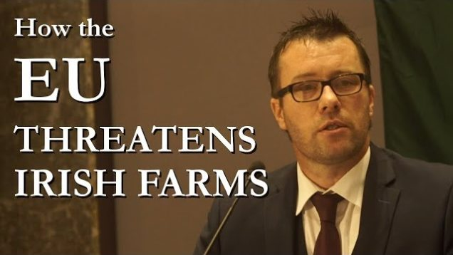 Independent Speaker, John Claffey at Irexit Galway | Farming and the EU