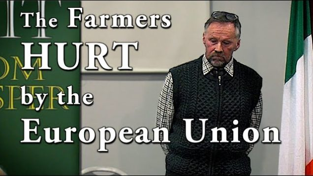 Irish Farmers are Strangled by EU Regulations | Frank Shinnock at Irexit Cork