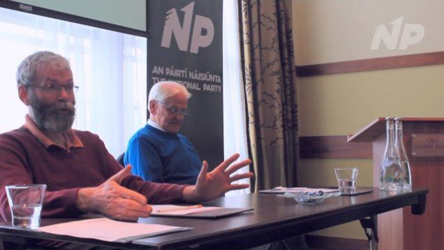 John Wilson and Cllr. Séamus Treanor Discuss Border Control and Government Hypocrisy