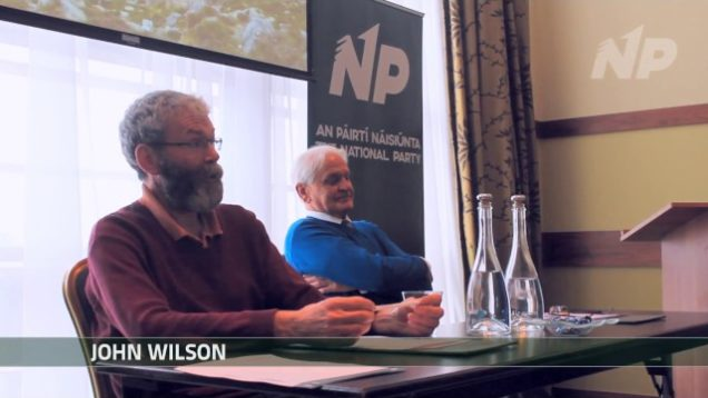 John Wilson Discusses Immigration, Organised Crime and Extremism