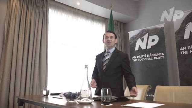 Justin Barrett Discusses Water Charges in Ireland
