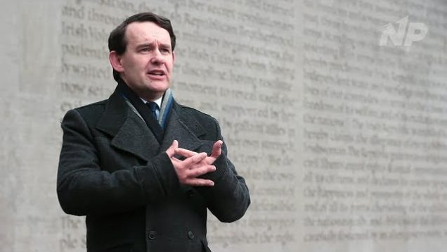 Justin Barrett Speaks at Arbour Hill Cemetery