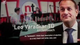 Leo varadker Abortionist. Lies through his teeth