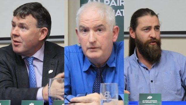 National Party Laois Cumann Launch – James Reynolds, John Daly,  Ciarán McCormack