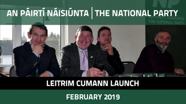 National Party Leitrim Cumann Launch