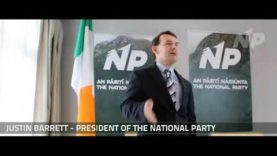 Justin Barrett defends the Irish Nation live on 98FM