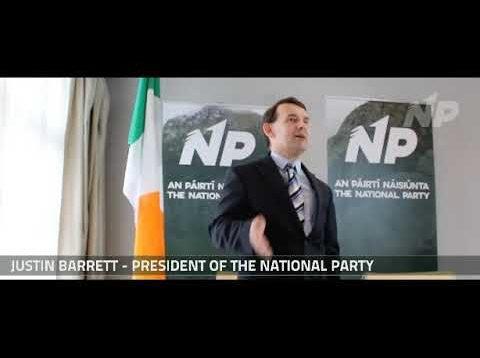 Justin Barrett defends the Irish Nation live on 98FM