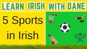 Describing Different Sports In Irish